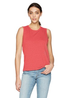 Joe's Jeans Women's Luna Tank red Alert S
