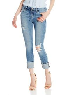 """Joe's Jeans Women's Midrise Clean 4"""" Cuff Crop Jean"""