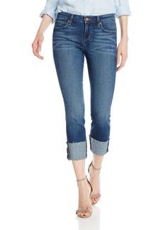 "Joe's Jeans Women's Midrise Raw Edge 4"" Clean Cuff Crop Jean"