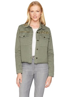 Joe's Jeans Women's Military Crop Jacket in  S