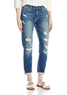 Joe's Jeans Women's Off Duty Boyfriend Slim Ankle Jean In Rubina