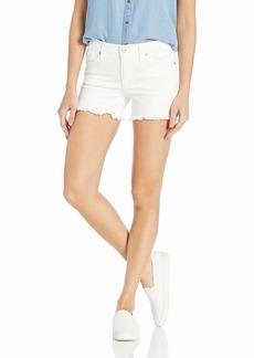 """Joe's Jeans Women's Ozzie 4"""" Cut Off Short in Rami"""