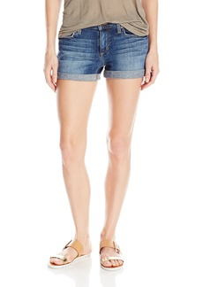 Joe's Jeans Women's Rolled Denim Short in