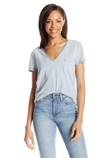 Joe's Jeans Women's Sienna Indigo Stripe Jersey Tee  Wash M