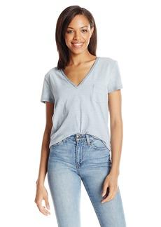 Joe's Jeans Women's Sienna Indigo Stripe Jersey Tee  XS