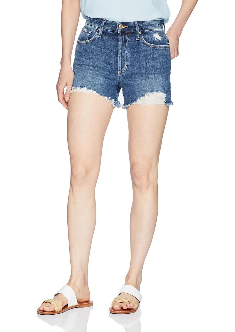 Joe's Jeans Women's Smith High Rise Cut Off Jean Short
