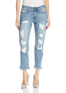 Joe's Jeans Women's Smith Midrise Straight Ankle Jean with Fray
