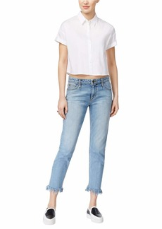Joe's Jeans Women's Smith Midrise Straight Crop Ankle Jean REIZ