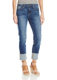 Joe's Jeans Women's Smith Midrise Straight Crop Cuffed Jean