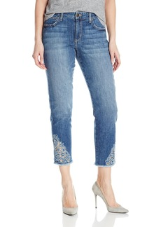 Joe's Jeans Women's Smith Midrise Straight Crop Jean