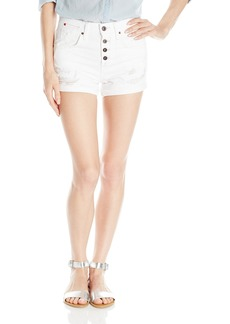 Joe's Jeans Women's Spotless High-Rise Busted Fly Short