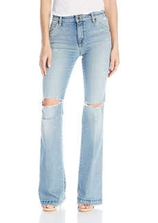 Joe's Jeans Women's The Wasteland High-Rise Flare Jean in