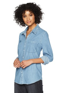 Joe's Jeans Women's TIFFA Shirt Light wash Blue XS