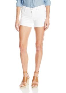 Joe's Jeans Women's Turn up Cuff White Short