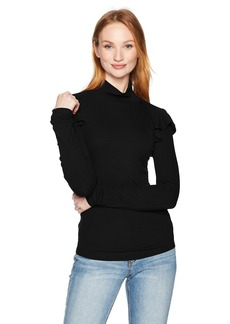 Joe's Jeans Women's Turtle Neck Rib Knit  XS