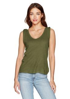 Joe's Jeans Women's Ula Linen Jersey Tee  XS