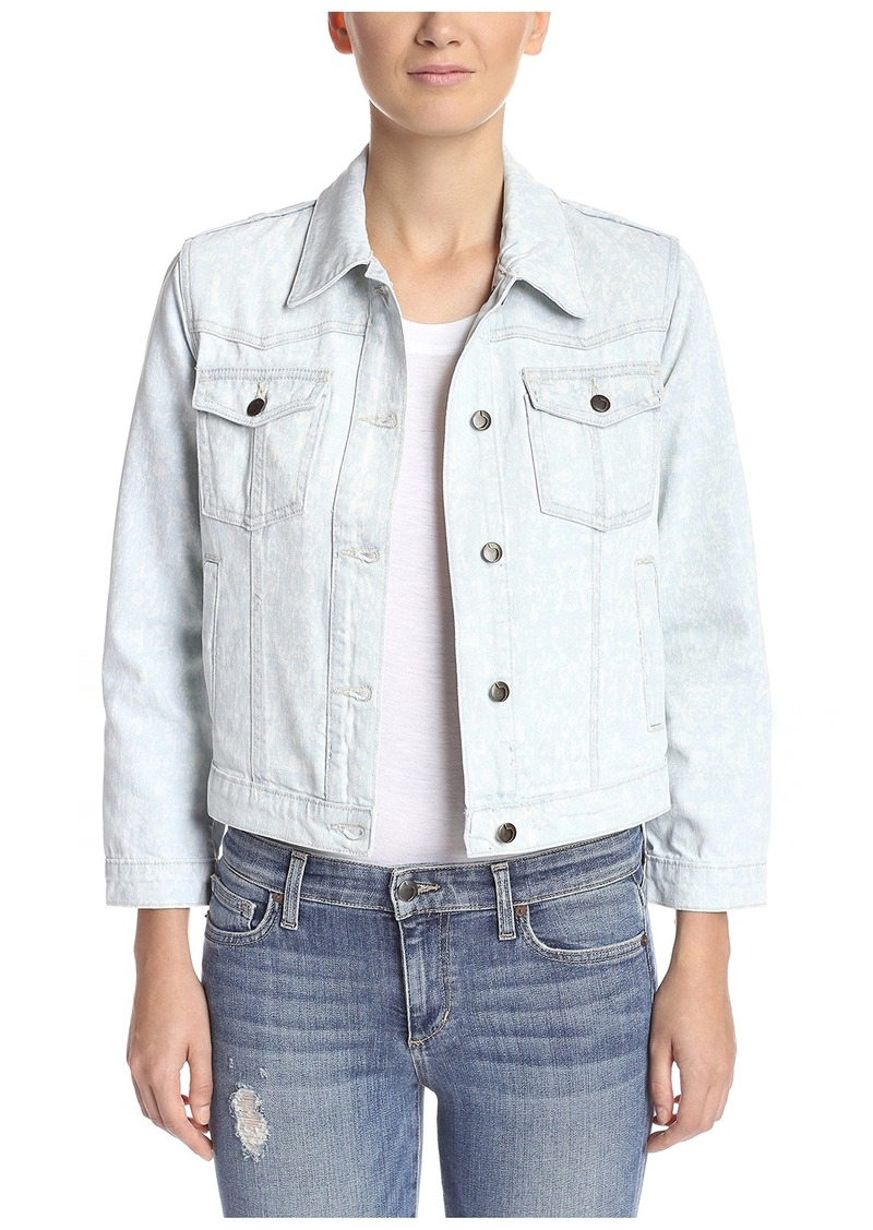 Joe's Jeans Women's Western Cropped Jacket  S