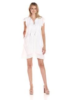 Joe's Jeans Women's Willa Cotton Lawn Dress White M