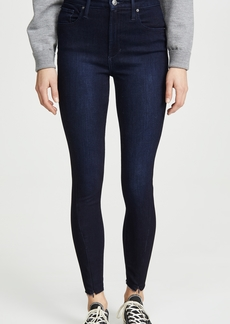 Joe's Jeans x We Wore What Danielle High Rise Skinny Zip Jeans