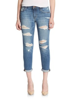 Joe's Kency Distressed Crop Boyfriend Jeans