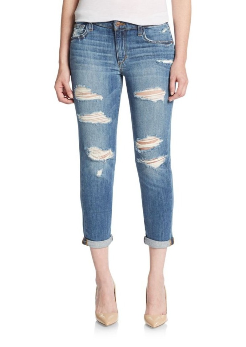 Joe's Jeans Kency Distressed Crop Boyfriend Jeans