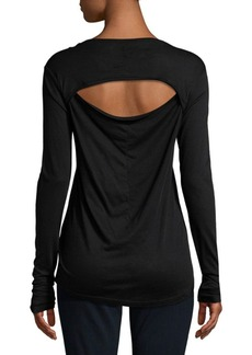 Joe's Jeans Long Sleeve V-Neck Tee