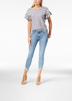 Joe's Jeans Joe's Marcella Icon Diagonal-Frayed Skinny Ankle Jeans