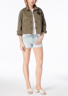 Joe's Jeans Joe's Marie Cropped Cotton Military Jacket