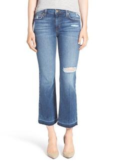 Joe's Jeans Joe's 'Olivia' Crop Flare Jeans (Madrid)