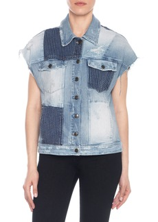 Joe's Jeans Joe's Oversize Patchwork Jacket