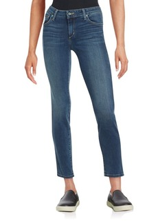 Joe's Quinlan Cropped Straight-Leg Jeans