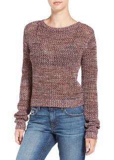 Joe's Jeans Joe's 'Reed' Crochet Cotton Sweater