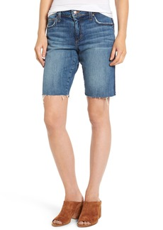 Joe's Reworked Denim Bermuda Shorts (Leighla)