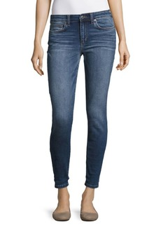 Rolled Crop Skinny Jeans