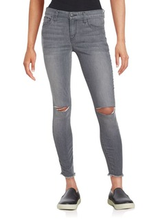 Joe's Jeans Rolled Skinny Five-Pocket Jeans