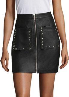 Joe's Jeans Joe's Ruby Leather Skirt