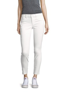 Skinny-Fit Cropped Jeans