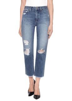 Joe's Smith High Waist Crop Boyfriend Jeans (Caryn)