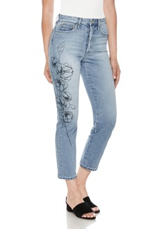 Joe's Smith High Waist Crop Boyfriend Jeans (Jazzie)
