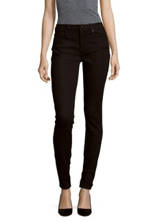 Joe's Solid Skinny-Fit Cotton Jeans