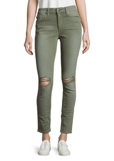 Joe's Jeans Solid Skinny-Fit Jeans