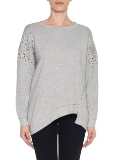 Joe's Jeans Studded Cotton Sweater