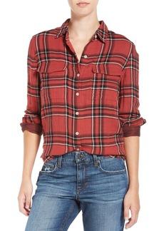 Joe's Jeans Joe's 'Thatcher' Plaid Cotton Shirt