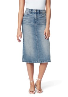 Joe's Jeans Joe's The A-Line Cutoff Denim Pencil Skirt