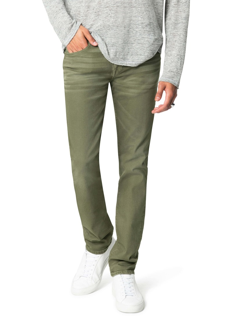 Joe's Jeans Joe's The Asher Double Dye Slim Fit Jeans (Burnt Olive)