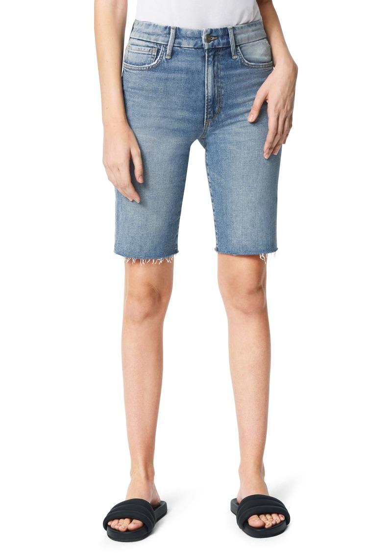 Joe's Jeans Joe's The Bermuda High Waist Denim Shorts (The Wanderer)