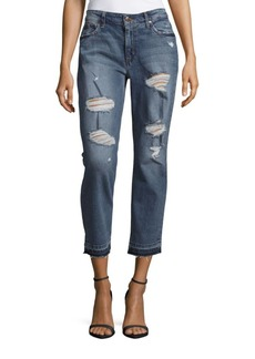 Joe's The Billie Ankle Boyfriend Distressed Jeans