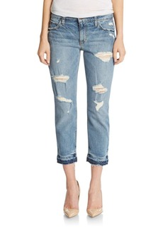 Joe's Jeans The Billie Slim Cropped Boyfriend Jeans