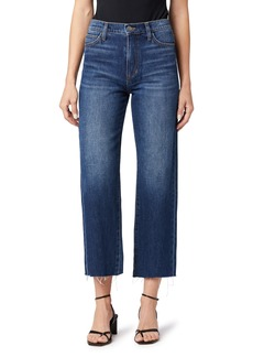 Joe's Jeans Joe's The Blake Destructed Hem Nonstretch Crop Wide Leg Jeans (Minerva)