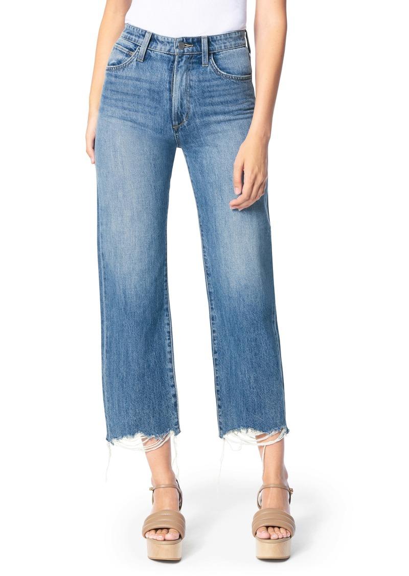 Joe's Jeans Joe's The Blake Fray Hem Wide Leg Jeans (Groove)